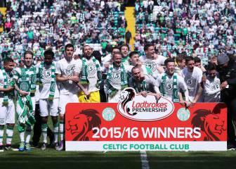 Quinto título seguido del Celtic