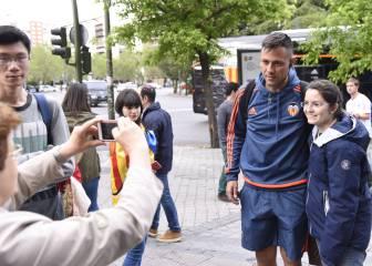 El Valencia alza un muro en Chamartín: Diego Alves