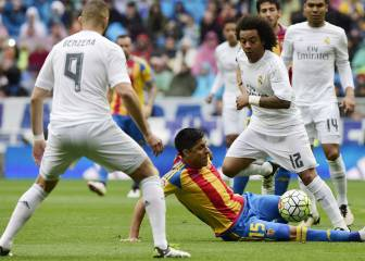 Real Madrid vs Valencia en directo y en vivo online