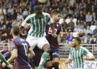 Betis y Eibar empatan con todo decidido en la Liga
