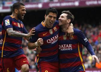El Barça arrolla al Espanyol y tiene el título en su mano
