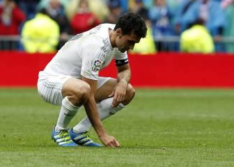Arbeloa dijo adiós al Bernabéu: