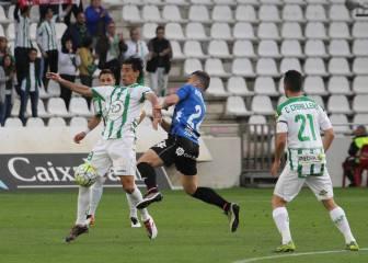 Un gol de Pedro Ríos acerca al Córdoba al playoff de ascenso