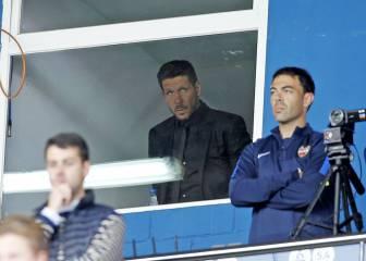 'Ciutat maldita' para Simeone: tres derrotas y dos empates