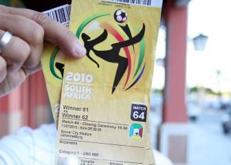 Mundial 2010: 8 años de cárcel por vender entradas falsas