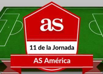 El once latinoamericano de AS América de la jornada europea