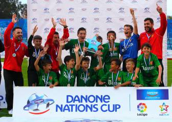 Fundació Damm ganó la Fase Este de la Danone Cup
