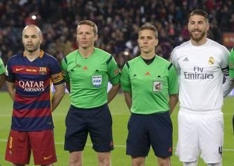 Pita en Granada el árbitro que anuló el gol de Bale al Barça