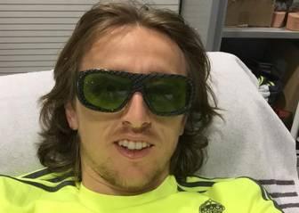 Luka Modric se prepara con