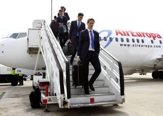 El plan del Atlético: volará a Milán el 26 por la mañana