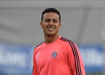 Thiago podría jugar en el Manchester City de Guardiola