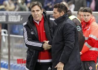 Simeone-Berizzo, encuentro de los técnicos una vuelta después