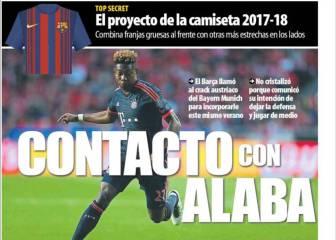 MD: Alaba, a lo Bale: quiere jugar más adelantado