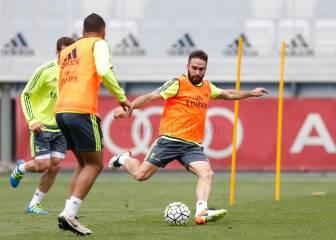 Keylor y Carvajal se unieron al grupo; Bale corrió en solitario