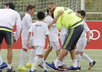 Los niños disfrutaron con Keylor y Benzema en la Audi Junior Cup
