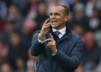 El Everton hace oficial el despido de Roberto Martínez