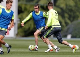 Bale ya se entrena con el grupo y será titular ante el Deportivo