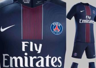La nuevas camisetas del PSG y Dortmund salen a escena