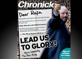 Carta de los fans del Newcastle para que continúe Rafa Benítez