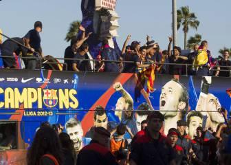 El Barcelona suspende la rúa en caso de victoria en la Liga