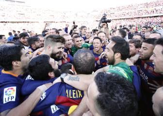 Todos los goles y las mejores imágenes del Barcelona campeón de Liga en Granada
