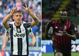 Juventus y Milán estrenaron la camiseta para la 2016-2017
