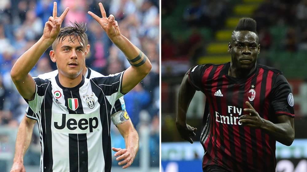 c98d226bc43 Juventus y Milán estrenaron la camiseta para la 2016-2017