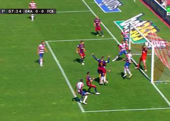 El Barça reclamó gol fantasma