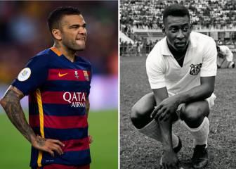 Alves supera a Pelé: tercero con más títulos en la historia