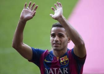 Douglas gana un título con el Barça cada 57 minutos jugados