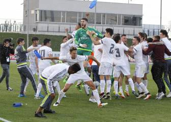 El Castilla, el Racing, el Reus y el UCAM acaban líderes en 2ªB