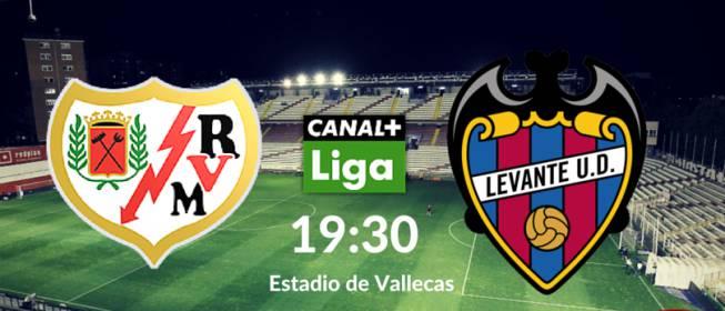 Sigue el partido de Liga BBVA entre el Rayo Vallecano y el Levante, hoy domingo 15 de mayo a las 19:30 horas.
