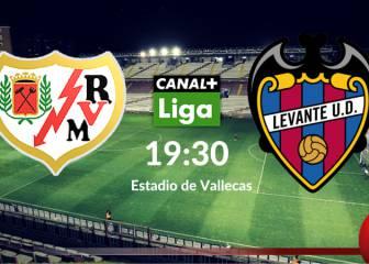 Rayo Vallecano vs Levante en vivo y en directo online