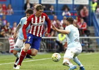 Torres, 8º máximo goleador en la historia del Atlético
