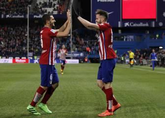 Así fue la Liga del Atlético: el mediocampo, uno a uno