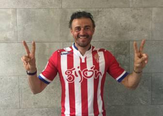 Luis Enrique felicita al Sporting por Twitter: ¡Enhorabuena Pitu!