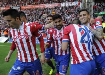 El Sporting se salva, Luis Suárez golea y Oblak bate récords