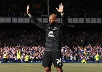 La emotiva carta de despedida de Tim Howard al Everton