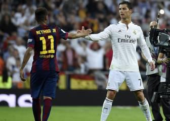 Nadie tiró más que Cristiano ni regateó más que Neymar