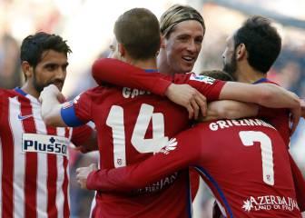Así fue la Liga del Atlético: la delantera rojiblanca, uno a uno