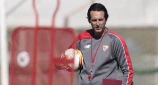 """Emery: """"El Sevilla quiere, busca y trabaja la Europa League"""""""