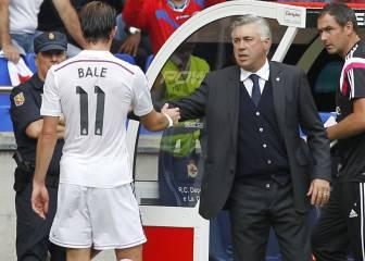 Ancelotti desvela que Bale pidió jugar de mediapunta