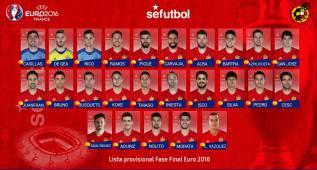 Torres y Costa, fuera de la Euro; Lucas Vázquez y Saúl, en la lista
