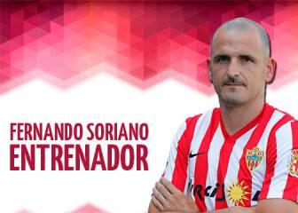 Fernando Soriano, nuevo entrenador del Almería
