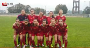 Las Sub-16, subcampeonas del Torneo Desarrollo de UEFA