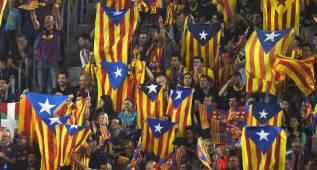 La Policía prohíbe que entren esteladas al Calderón