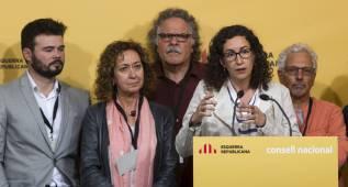 ERC pide al Barça que no juegue la final por el veto a la bandera