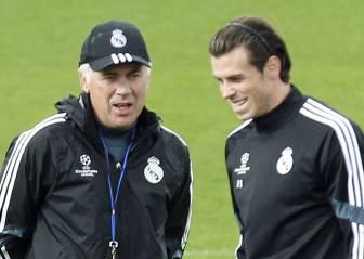 Florentino citó a Ancelotti para discutir la posición de Bale