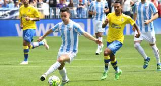 El Málaga negocia la ampliación y blindaje del contrato de Juanpi