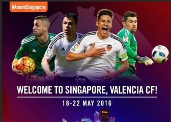 El Valencia y LaLiga crearán un Festival de Fútbol en Singapur